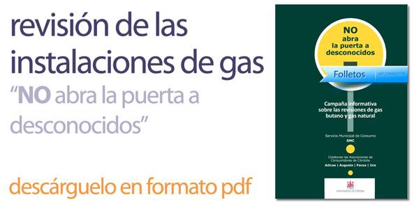 Servicio municipal de consumo ayuntamiento c rdoba for Revision gas butano empresas autorizadas